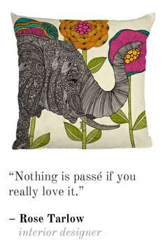 """""""Nothing is passe!"""""""