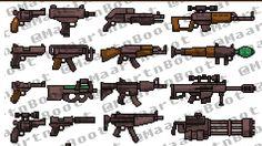 pixel art weapon - Поиск в Google