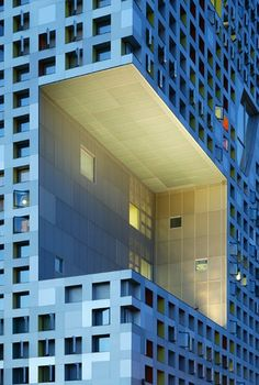 Simmons Hall at MIT/ by Steven Holl