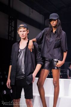 Travis Taddeo Mens Activewear, Montreal, Catwalk, Active Wear, Leather Jacket, Street Style, Jackets, Fashion Trends, Studded Leather Jacket