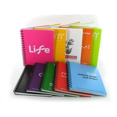 Recycled polypropylene A6 notepad #colour #brand #notes #office Find us on facebook at https://www.facebook.com/JNLondon