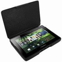 Custodia Blackberry Playbook in pelle nera