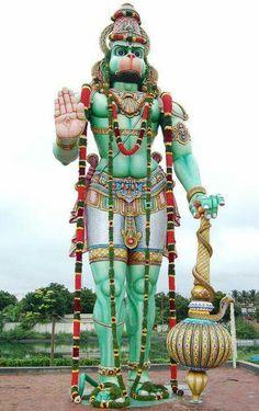 Shri Baktha Aanjaneyar Temple, Dindigul  jai shree Ram