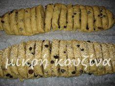 μικρή κουζίνα: Ζακυνθινά παξιμάδια χωριάτικα Greek Cookies, Greek Sweets, Greek Recipes, Sushi, Biscuits, Sweet Tooth, Recipies, Deserts, Food And Drink
