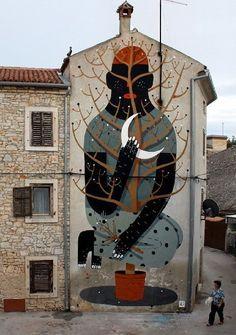 Agostino Iacurci street art