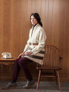 Woolrich White // Miss Moss