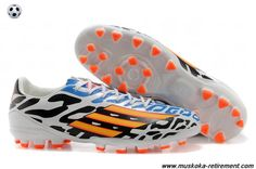 TRX AG (Black White Orange Blue) Adidas F50 AdiZero For Wholesale