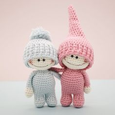 The Little Doodahs Wilbur And Bertie Amigurumi Pattern
