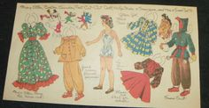 Mary Ellen paper doll / eBay
