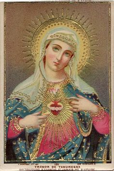 Immaculate Heart of Mary, I offer you my prayers, works, joys and sufferings of this day.