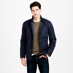 J.Crew - Broadmoor quilted jacket
