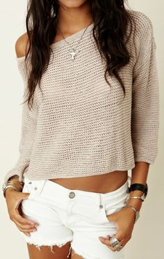 Brandy Melville Crop SweaterBrandy Melville Crop Sweater
