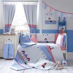Kids Deep Blue Sea Collection Cot Bed Duvet Cover | Dunelm Mill