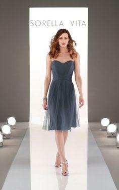 Sorella Vita Bridesmaid Dress 8727