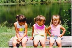 The Z Girls on one of our many expeditions to Sheldon's Marsh in Huron, Ohio. Emily hamming it up & her big sisters loving every minute of it!