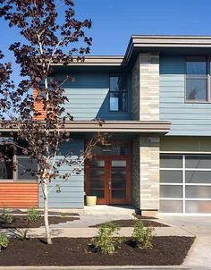 Stunning Contemporary Home Plan with Photos - 69446AM | Modern, Narrow Lot, Photo Gallery, 1st Floor Master Suite, CAD Available, Den-Office-Library-Study, PDF | Architectural Designs