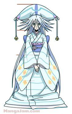 How to Draw Kuroageha from Mushibugyo step by step