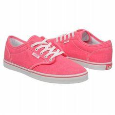 Athletics Vans Women s Atwood Low Neon Pink Shoes.com Woman Shoes 1a58b30f4af