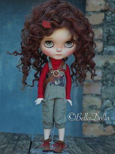 Loulou, Blythe custom n•128 | Bella Dolla | Flickr