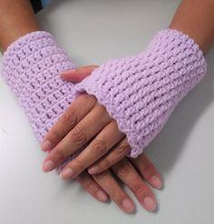 Crochet Fingerless Gloves Wrist Warmers Gloves Gift for | Etsy