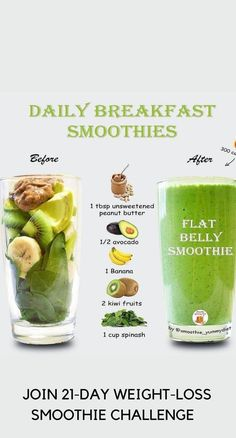 Delicious, Easy-To-Make Smoothies For Rapid Weight Loss, Increased Energy, Incredible Health! #smoothiediet #smoothierecipes #weightlosssmoothies #smoothieideas #smoothielife Smoothie Drinks, Breakfast Smoothies, Smoothie Diet, Smoothie Recipes, Smoothie Challenge, Need To Lose Weight, Weight Loss Smoothies, How To Increase Energy, Best Weight Loss