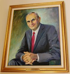 Walter R Peterson Jr, NH State House Portrait