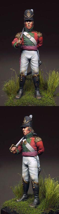 British officer, 69th regiment