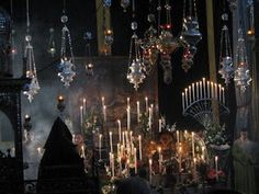 The Armenian church of st James in Jerusalem. This is from the Burial Service on Good Friday.