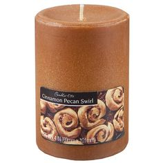 Fortune Products Candle-Lite Cinnamon Pecan Pillar Candle & Reviews | Wayfair