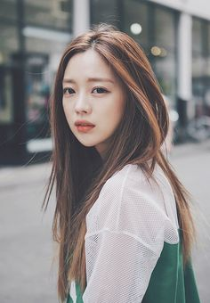 ulzzang and park seul image Ulzzang Fashion, Ulzzang Girl, Korean Beauty, Asian Beauty, Park Seul, Bora Lim, Chestnut Hair, Looks Chic, Asian Hair