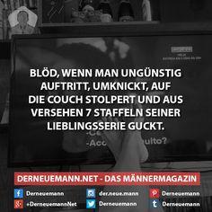 Lieblingsserie #derneuemann #humor #lustig #spaß #sprüche