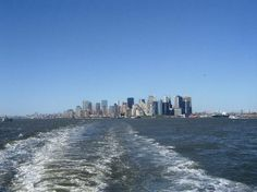 Manhattan, staten island ferry is free in south manhatten by battery.  Can see views statue of liberty on the way. Good idea