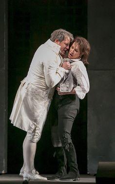 Matthew Polenzani and Joyce DiDonato in La Clemenza de Tito at the Lyric Opera of Chicago