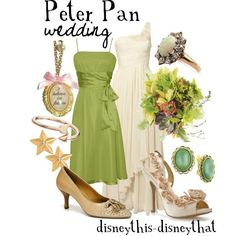 """""""Peter Pan Wedding"""" by disneythis-disneythat on Polyvore"""