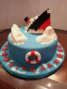 Titanic Birthday Cake By Despina Koutsiana