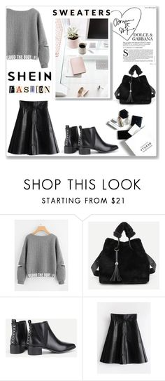 """Sweater Weather"" by musicajla ❤ liked on Polyvore featuring H&M"