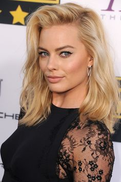 Margot Robbie's Blunt-End Tousle