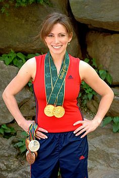 Shannon Miller - from my home town of Edmond, Oklahoma - 1996 Olympic God Metalist