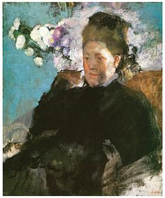 Edgar Degas Painting - Portrait Of A Woman by Edgar Degas