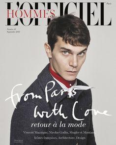 Vincent Lacrocq in Louis Vuitton - Hommes LOfficiel SEP 2015