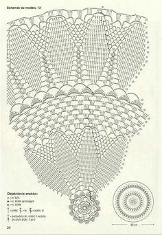 View album on Yandex. Free Crochet Doily Patterns, Crochet Doily Diagram, Filet Crochet, Crochet Shawl, Crochet Doilies, Crochet Books, Thread Crochet, Love Crochet, Crochet Table Runner