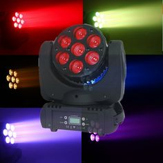 260.00$  Watch here - http://alicrn.worldwells.pw/go.php?t=32498335166 - 2015 Sale Fast Shipping LED Moving Head Wash Big 7x12W RGBW 4in1 Quad with Advanced 15 Channels DJ Disco Stage lamp Free Shpping