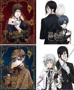 Kuroshitsuji: Book of Murder -  Ciel Phantomhive - Sebastian Michaelis - Charles Grey
