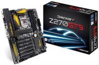 Biostar Racing Z270GT9 лучшая плата на новом чипсете    Компания Biostar не один раз намекала на грядущий выпуск функционально богатой материнской платы на базе связки процессорного гнезда LGA1151 и чипсета Intel Z270. И вот, в конце концов, новый продукт получил официальный статус. Плата под названием Z270GT9 обращает внимание огромным количеством разъёмов PCI-E x16 и многозонной системой подсветки Vivid LED. Стилизованное изображение клетчатого флага на текстолите позволяет смело отнести…
