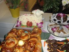 Birches' Easter brunch for residents and family members. Homemade sweet table for guests. Birches, Assisted Living, Easter Brunch, Homemade, Cooking, Sweet, Table, Food, Cuisine