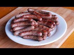 (1) #76 grilované domácí norimberské klobásky - YouTube Ale, Sausage, Grilling, Make It Yourself, Meat, Youtube, Food, Ale Beer, Sausages