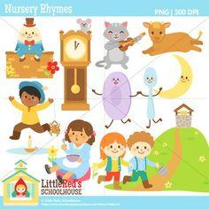 Clip Art - Nursery Rhymes Clipart $