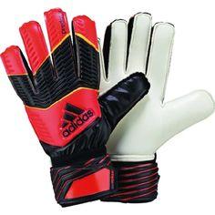 adidas Predator Replique Goalkeeper Gloves - model F87195 - Only $26.99 Soccer Goalie, Mens Soccer Cleats, Youth Soccer, Soccer Shoes, Football Soccer, Adidas Predator, Black Adidas, Adidas Men, Goalie Gloves