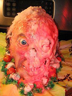 Decomposing Human Head Cake