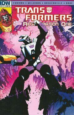 Transformers Regeneration One #91 Incentive Geoff Senior Variant Cover